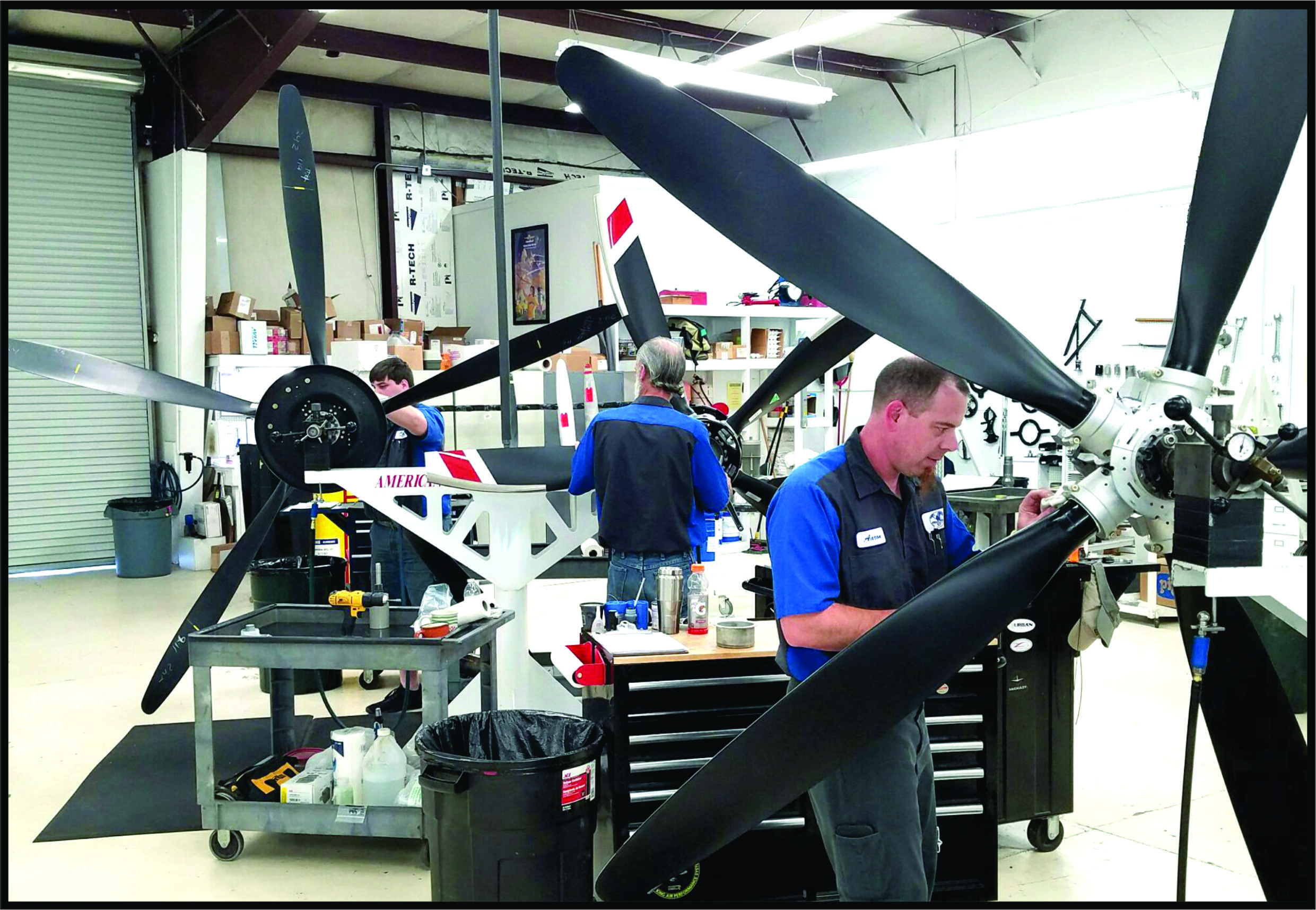 Propeller Service, Repair, Reseals, Prop Strike Repair, Custom Propellers, Metal Alloy, Composite Propellers